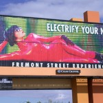 Attitude Girls billboard for Fremont Street, Las Vegas