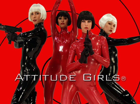 the attitude girls perform at a las vegas party